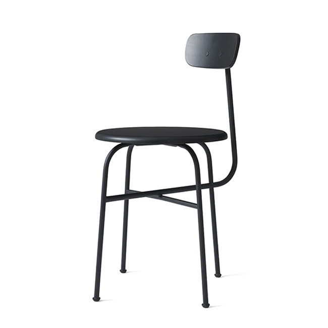 Menu Afteroom Dining Chair 4 in black un-upholstered