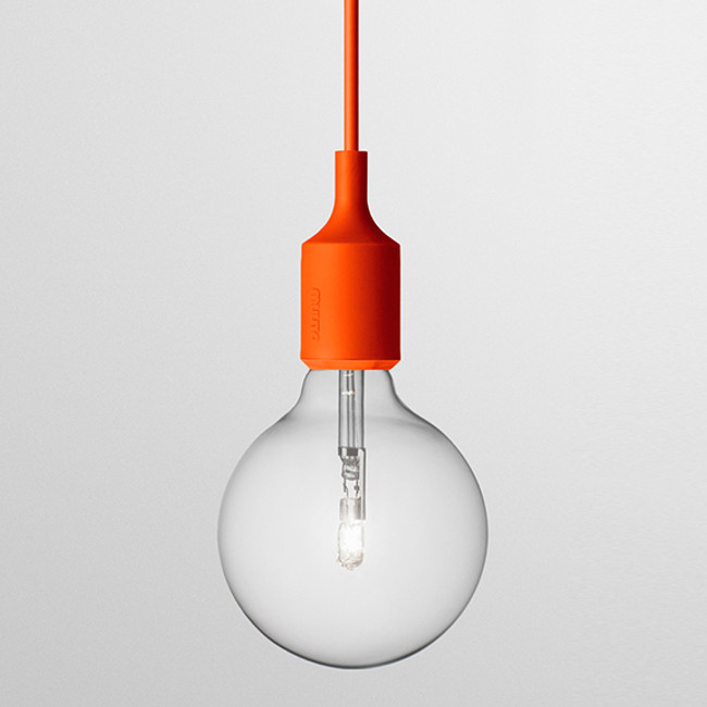Muuto  |  E27 Pendant Orange