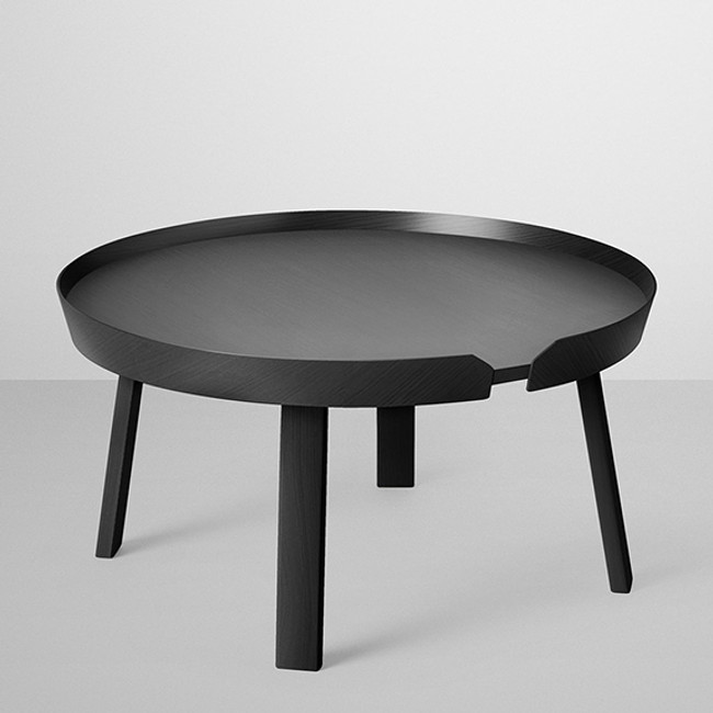 Muuto  |  Around Coffee Table Large Black