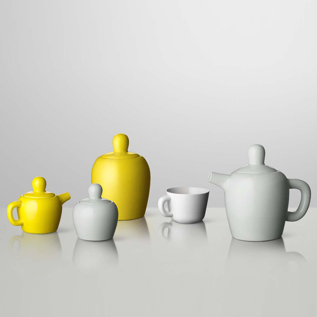 Muuto  |  Bulky Tea Set Yellow