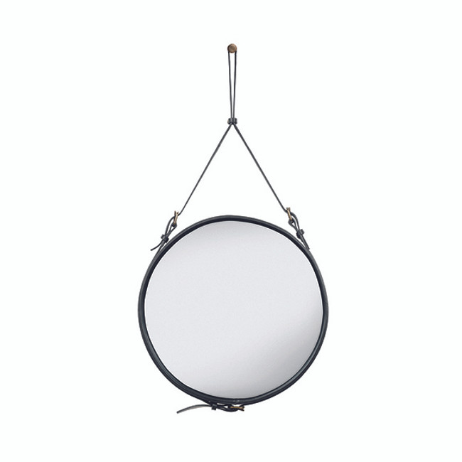 Gubi Adnet Circulaire Mirror M in Black