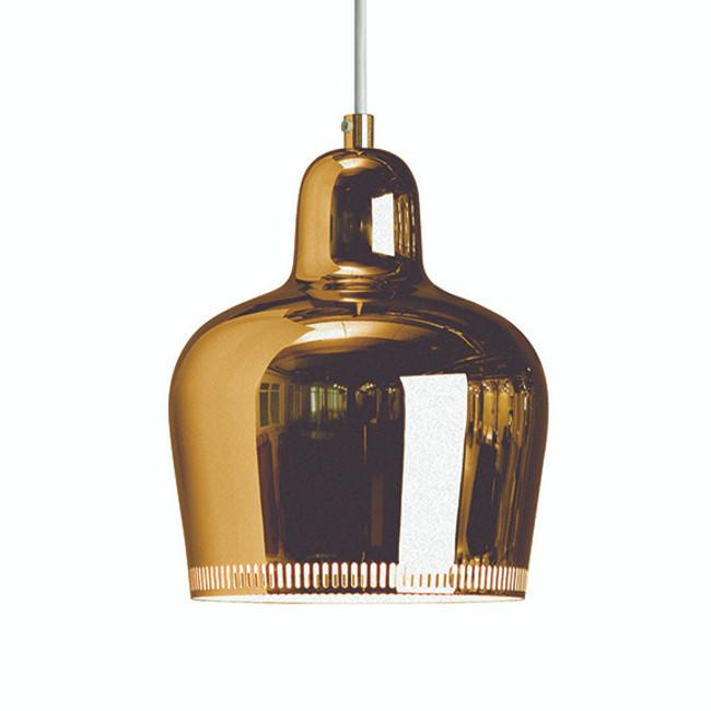Artek  |  Golden Bell Pendant A330S Brass
