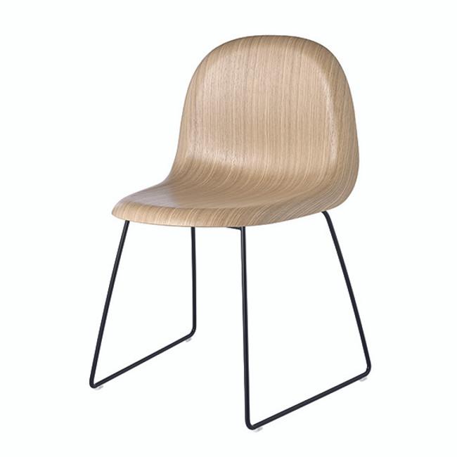 Gubi  |  Gubi 3D Wood Chair Sled Base