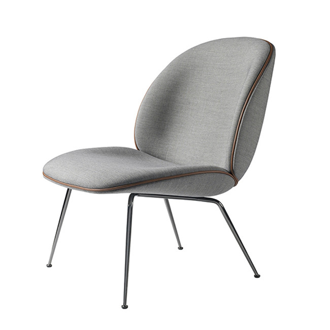 Gubi  |  Beetle Lounge Chair Upholstered