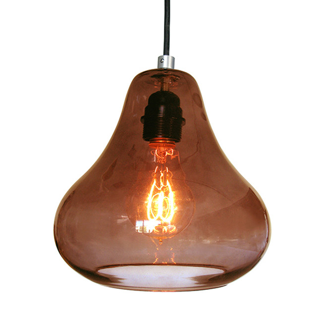 Luxello  |  Pear Pendant Brown
