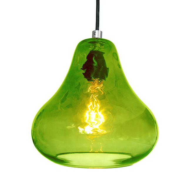 Luxello  |  Pear Pendant Green