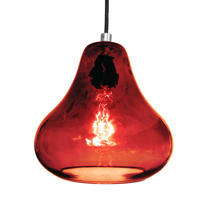 Luxello  |  Pear Pendant Ruby