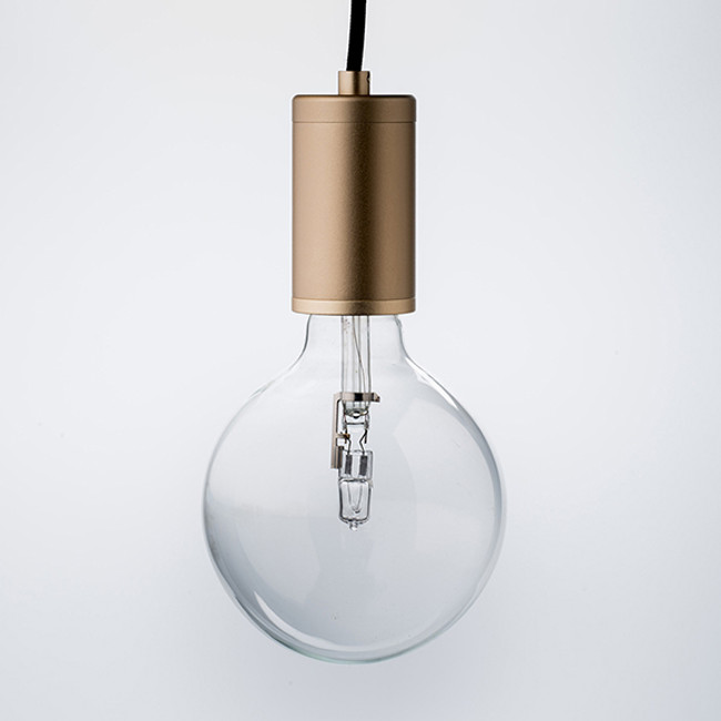 Luxello  |  Pure Pendant Brass With Black Cord