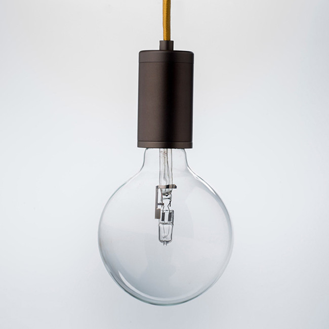 Luxello  |  Pure Pendant Bronze With Yellow Cord