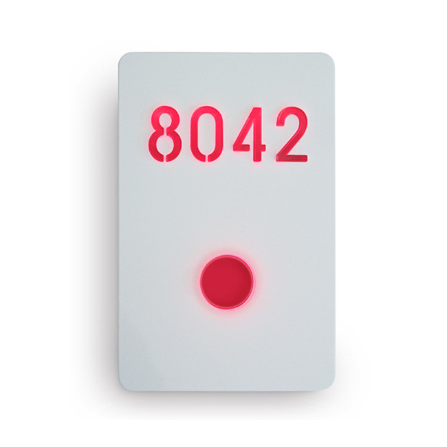 Luxello  |  Illuminated Number Sign White
