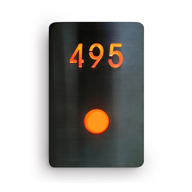 Luxello  |  LED Doorbell Number Panel