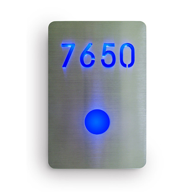 Luxello  |  LED Room Number Sign