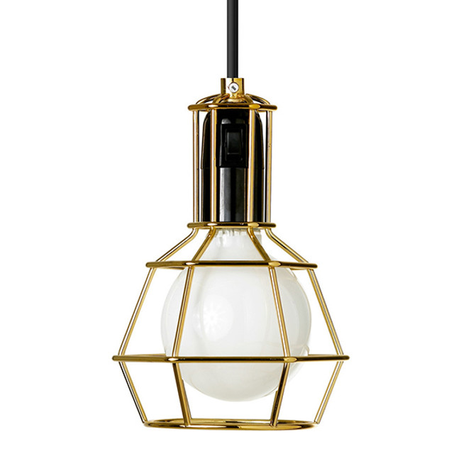 Design House Stockholm  |  Work Lamp Gold