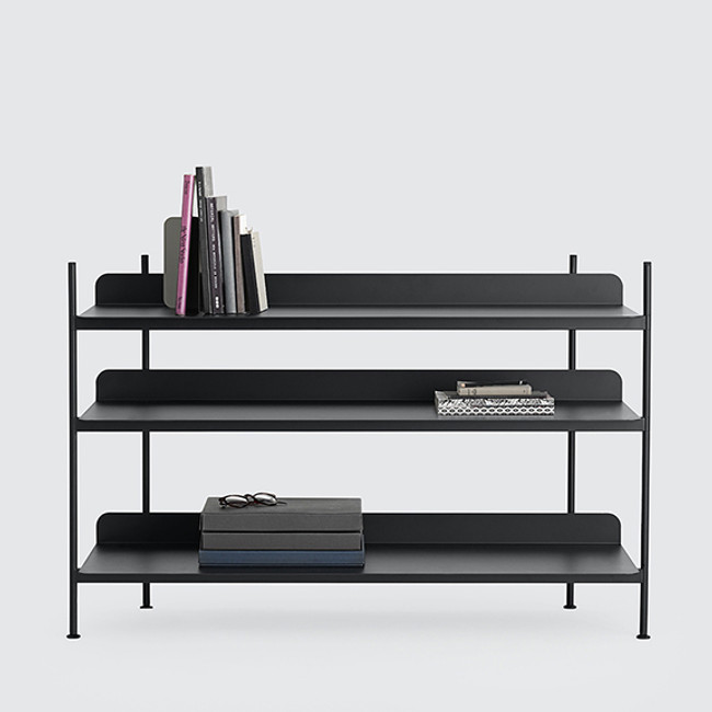 Muuto  |  Compile Shelving System Black