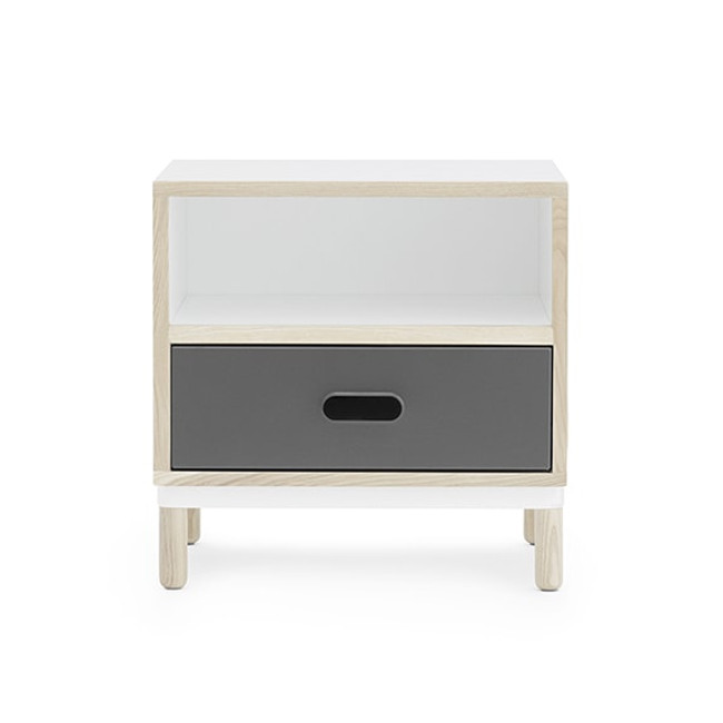 Normann Copenhagen Kabino Bedside Table in grey