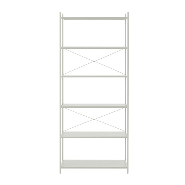 Ferm Living Punctual Shelving System Grey 1x6