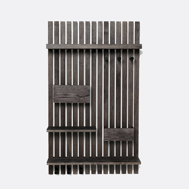 Ferm Living | Wooden Multi Shelf Stained Black