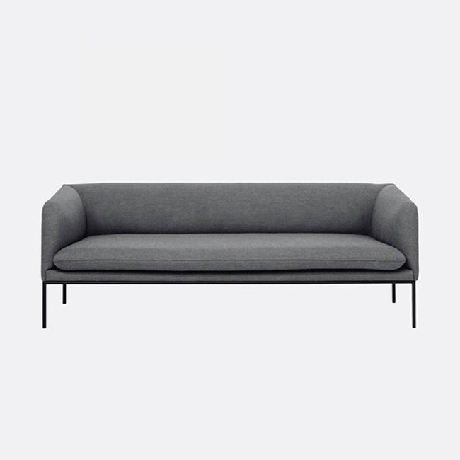 Ferm Living | Turn Sofa 3 Fiord in Light grey