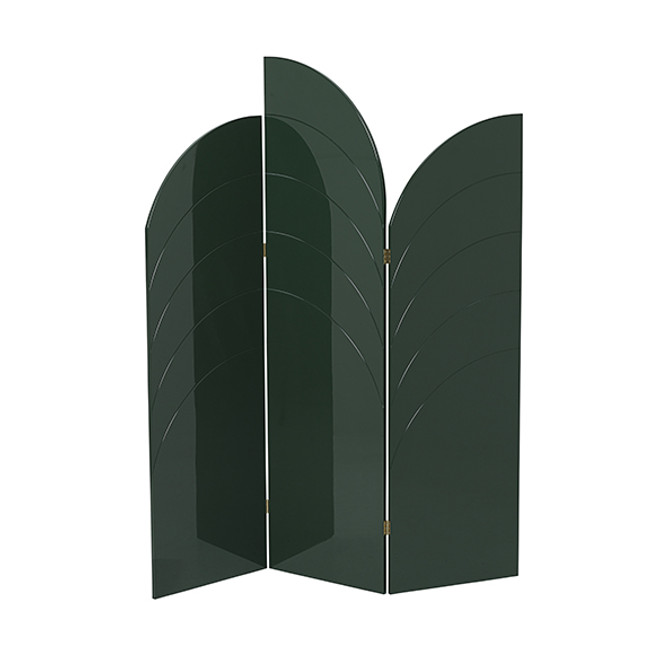 Ferm Living  |  Unfold Room Divider Dark Green