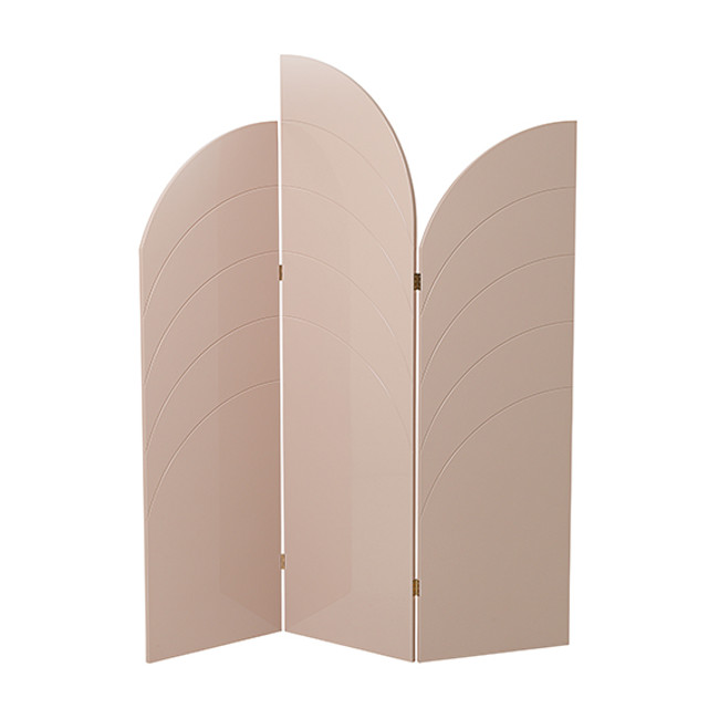 Ferm Living  |  Unfold Room Divider Rose