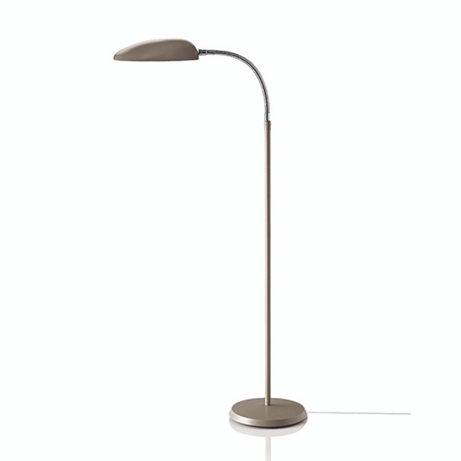 Gubi Cobra Floor Lamp in Warm grey