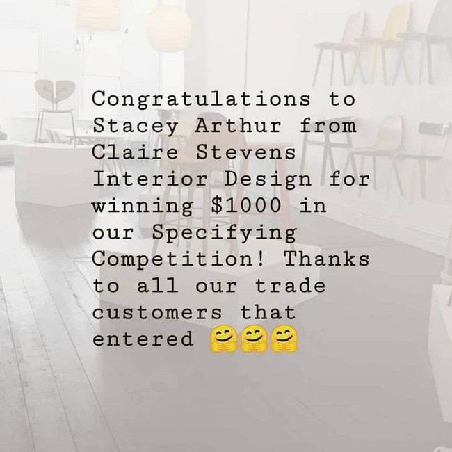 Trade Competition Winner!