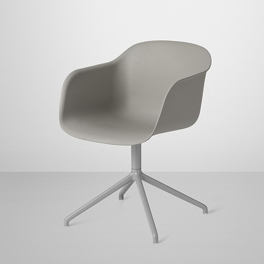 muuto fiber chair swivel base surrounding australia