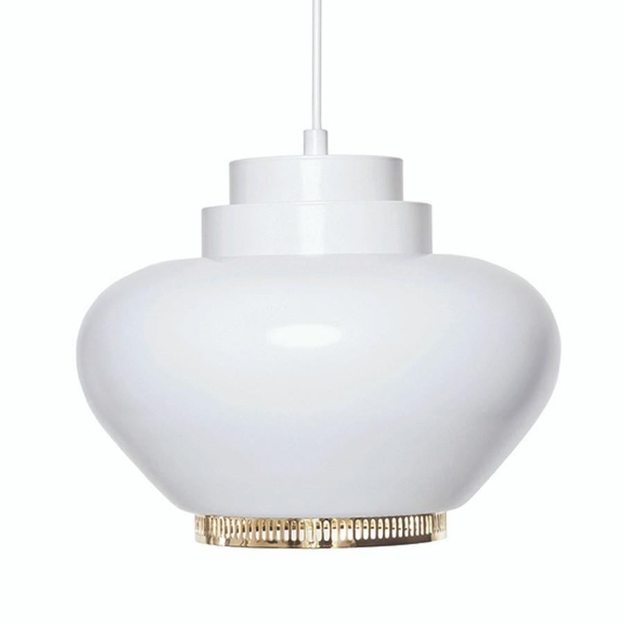 artek lighting. Artek Turnip Lamp A333 With Brass Plated Ring Lighting M
