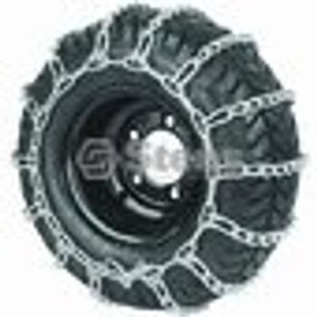 2 Link Tire Chain / 16 X 6.50 X 8 - (UNIVERSAL) - 180116