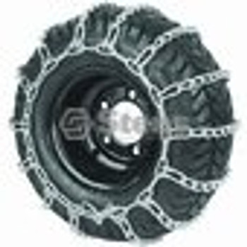 2 Link Tire Chain / 4.10 X 3.50 X 4/4.30 X 3 X 5 - (UNIVERSAL) - 180100