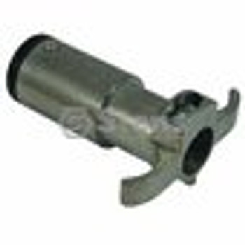 6-way Trailer End Connector / Round Pole - (UNIVERSAL) - 425737