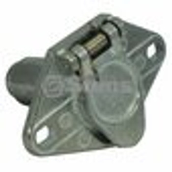 6-way Truck End Connector / Round Pole - (UNIVERSAL) - 425741