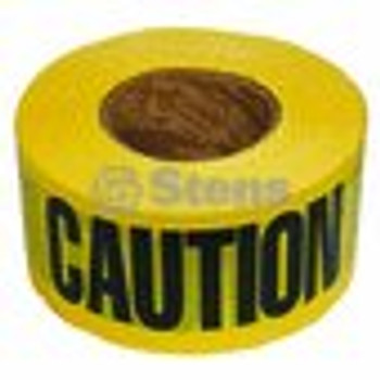 Barricade Caution Tape / 2 Mil. Black/Yellow - (UNIVERSAL) - 751527