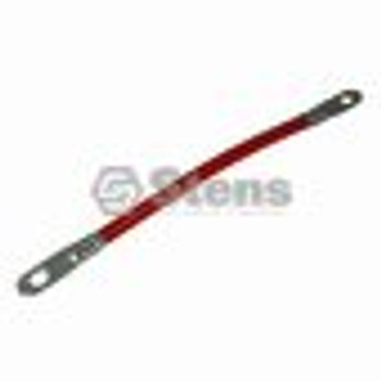 """Battery Cable Assembly / Red 8"""" Length - (UNIVERSAL) - 425215"""