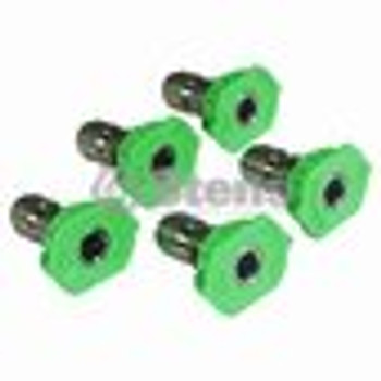 Composite Spray Nozzle / 3.0 Size, Green, 5 Pack - (UNIVERSAL) - 758061
