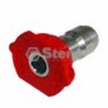 Composite Spray Nozzle / 3.5 Size, Red, 5 Pack - (UNIVERSAL) - 758063