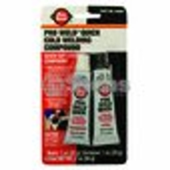 Epoxy Steel / Blister Pack 2 - 1 Oz Tubes - (UNIVERSAL) - 751446