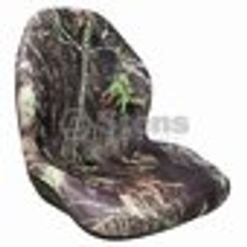 "High Back Seat / Mossy Oak 20"" Back - (UNIVERSAL) - 420202"