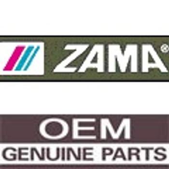 0002025 - Seat  Inlet - Part # 0002025 (ZAMA ORIGINAL OEM)
