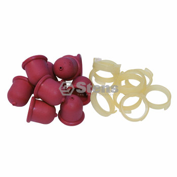 Stens 120-010 Primer Bulb Shop Pack / Briggs & Stratton 694395