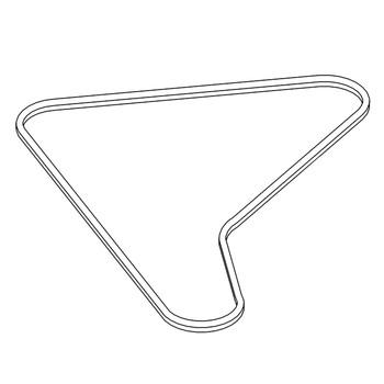 Logo HUSTLER for part number 770370