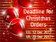 Christmas Orders - Deadline for 2017