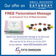Special Offer on Small Business Saturday 2016