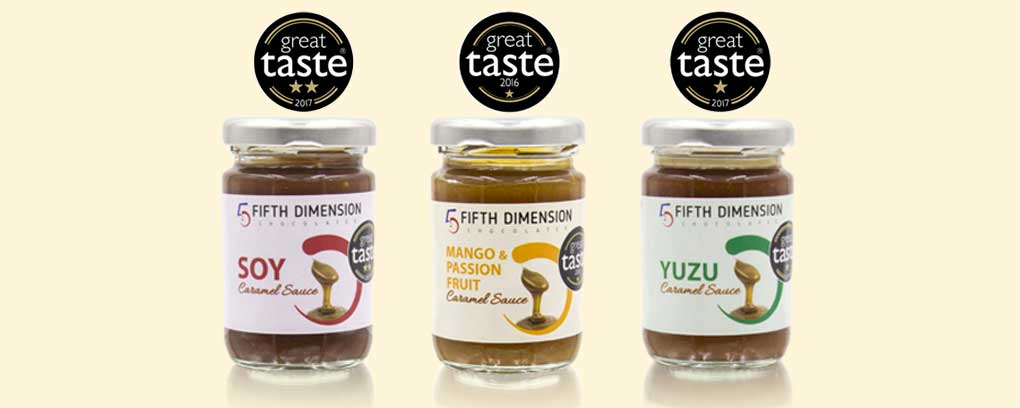 Award-winning Caramel Sauces