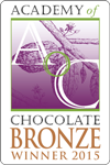 Academy of Chocolate 2015 Bronze Award