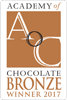 Academy of Chocolate 2017 Bronze Award - Bogota (Coffee Panela Caramel Chocolate)