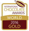 International Chocolate Awards 2016 World Final Gold Winner