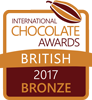 International Chocolate Awards 2017 British Bronze Winner