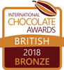 International Chocolate Awards 2018 British Competition - Bronze for Warsaw (Blackcurrant & Pernod)