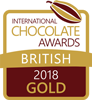 International Chocolate Awards 2018 British Competition - Gold for Turin (Hazelnut Gianduja)